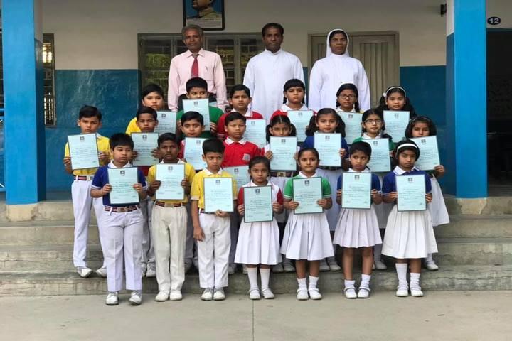 Holy Cross Ashram School-Felicitation