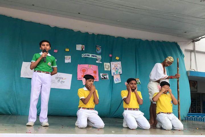 Holy Cross Ashram School-Gandhi Jayanti Celebrations
