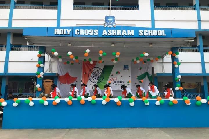Holy Cross Ashram School-Independence Day Celebrations