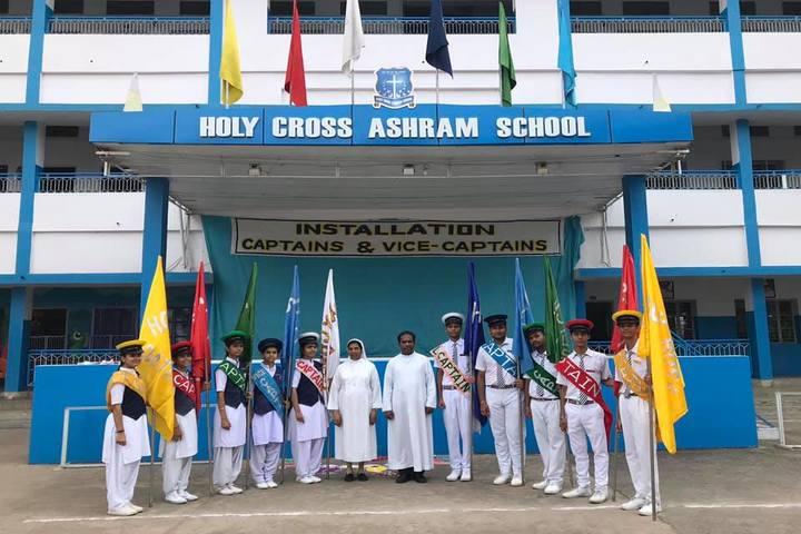Holy Cross Ashram School-Investiture Ceremony
