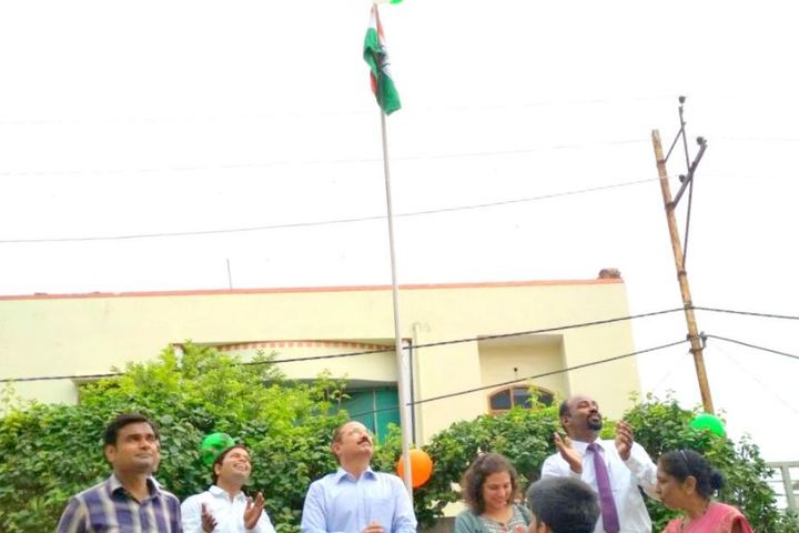 Wendy School Junior College-Independence Day Celebrations