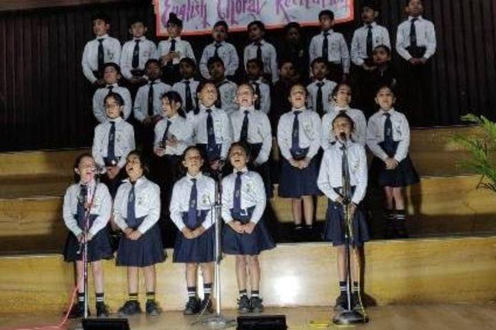 The Sanskaar Valley School-Choral Recitation
