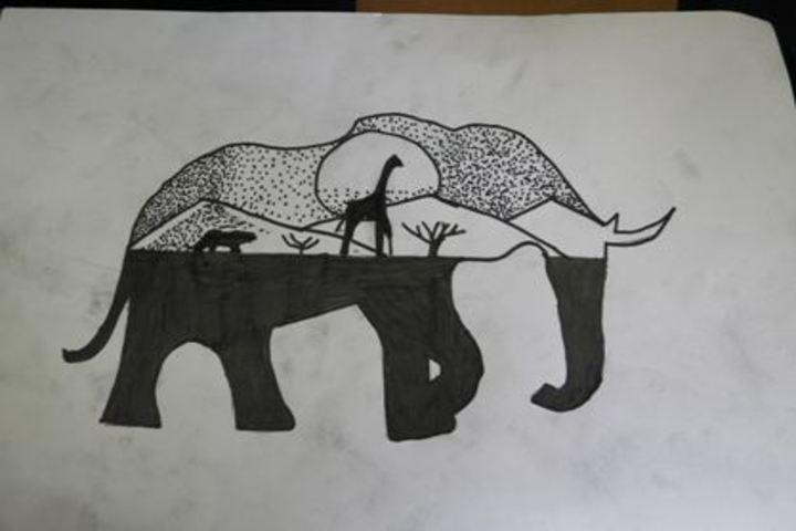 The Sanskaar Valley School-Drawing