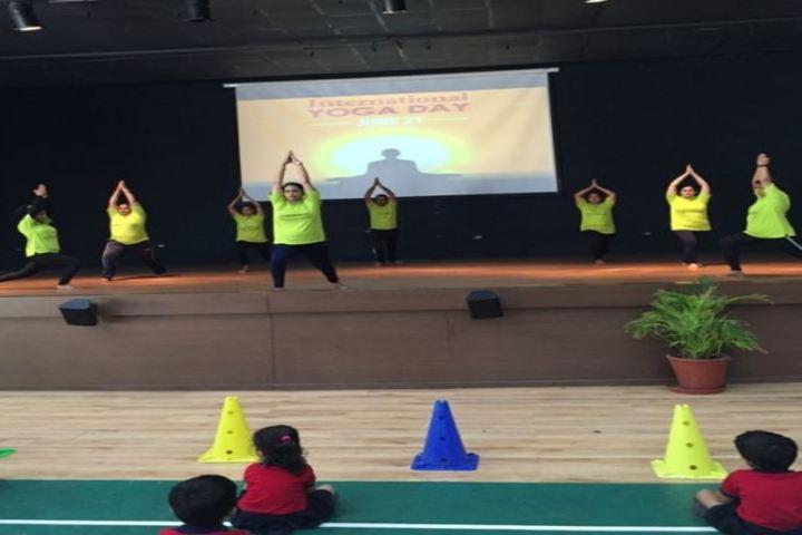 The Sanskaar Valley School-Yoga Day