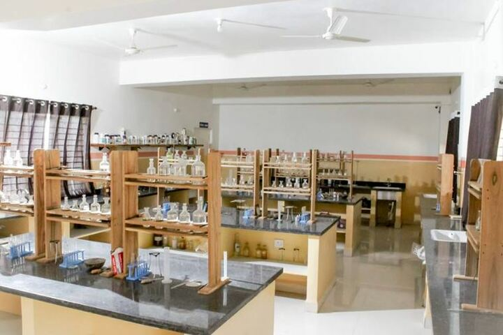 Rajeshwar Convent Higher Secondary School-Chemistry Lab