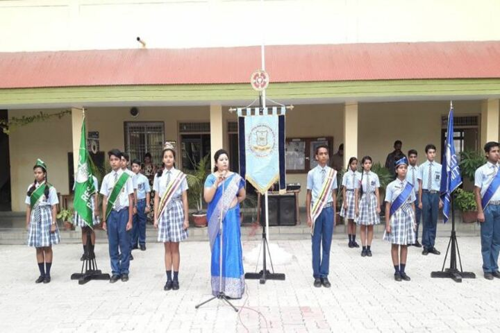 Christ Church Jabalpur Diocesan High School-Investiture Ceremony