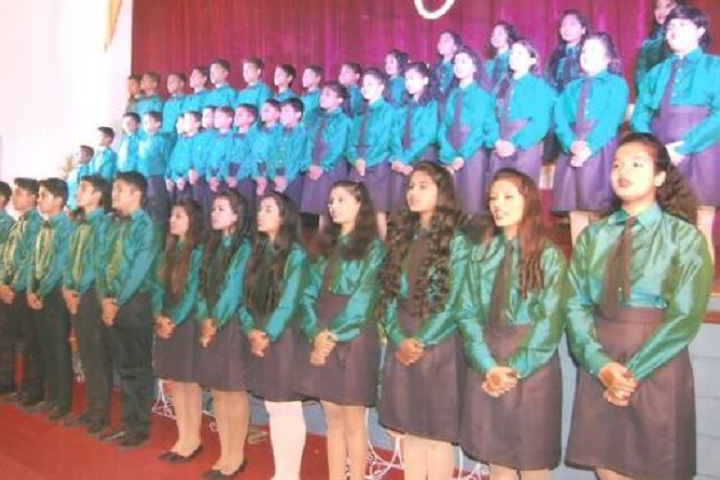 Christ Church Jabalpur Diocesan High School-Singing