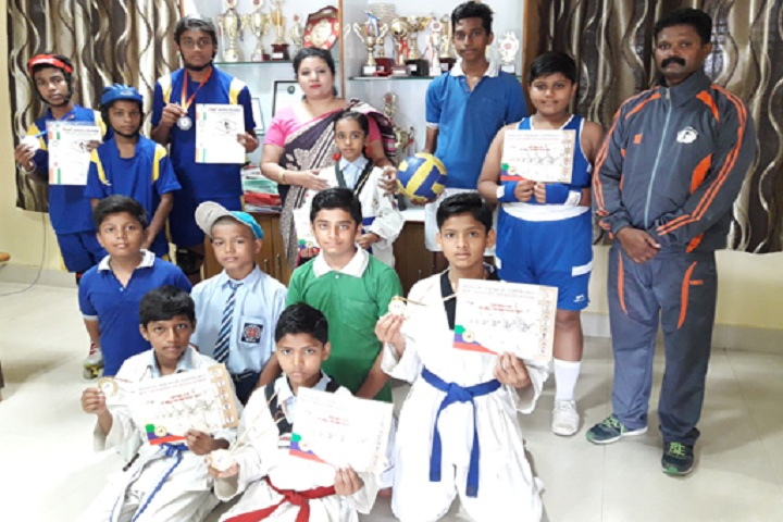Christ Church Jabalpur Diocesan High School-Karate Winner