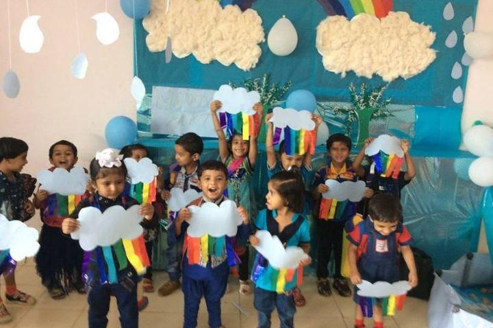 Arihant International Academy-Blue Day Celebrations