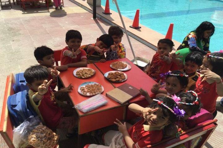 Arihant International Academy-Pool Party