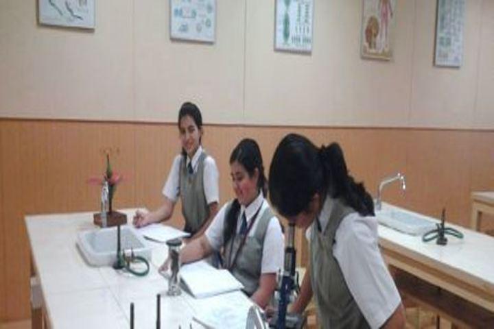 Bombay Scottish School-Biology Lab