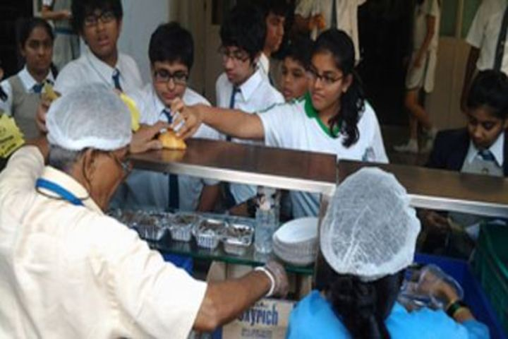 Bombay Scottish School-Canteen