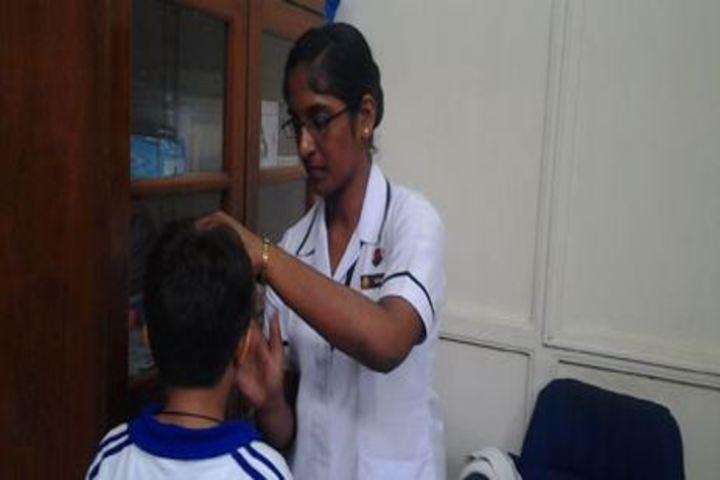 Bombay Scottish School-Medical Facility