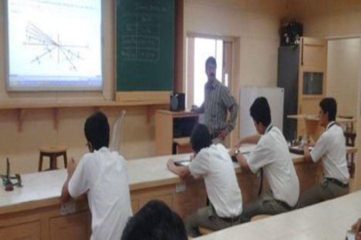 Bombay Scottish School-Physics Lab