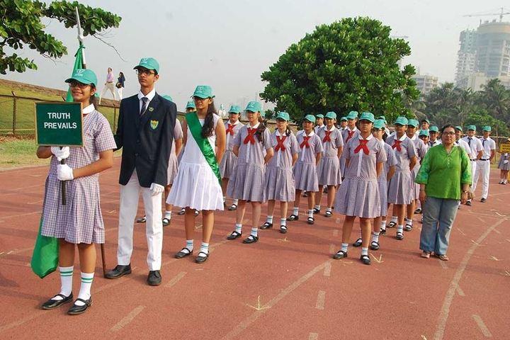 Greenlawns High School-March Past