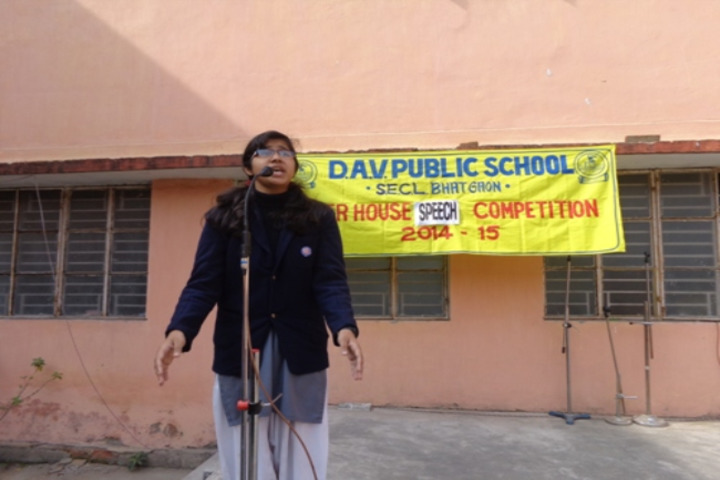 Dav Public School - Speech Competition