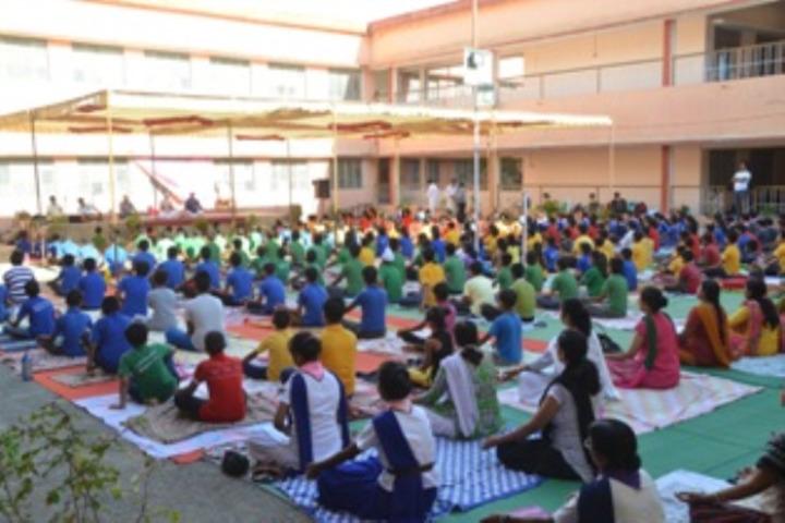 Dav Public School - Yoga Day