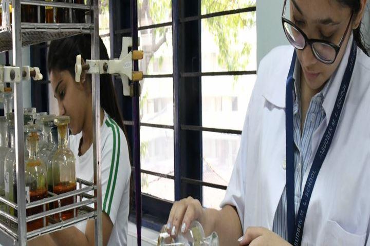 Jasudben M L School-Chemistry Lab