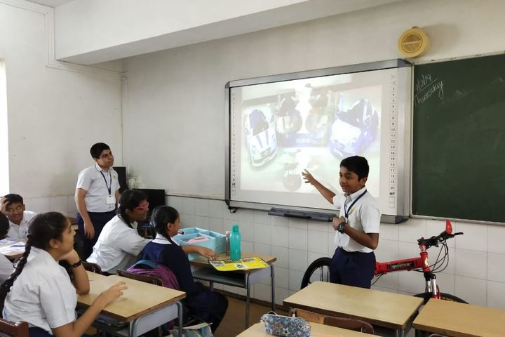 Jasudben M L School-Class Room