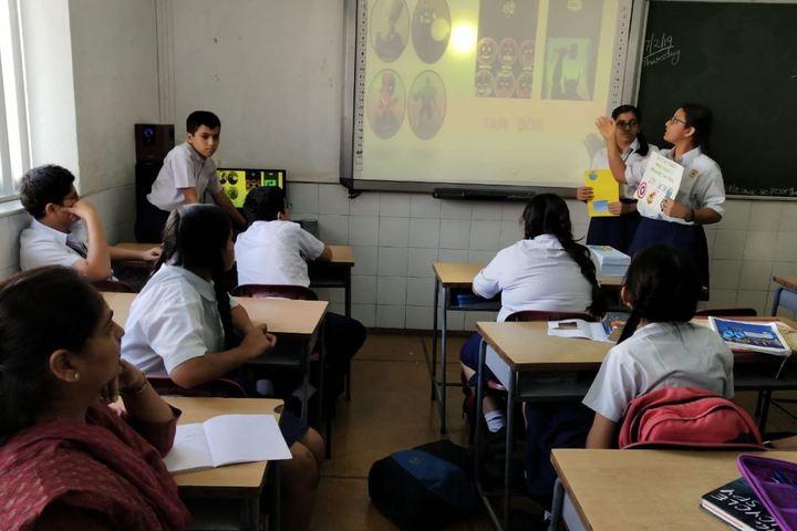 Jasudben M L School-Digital Class Room