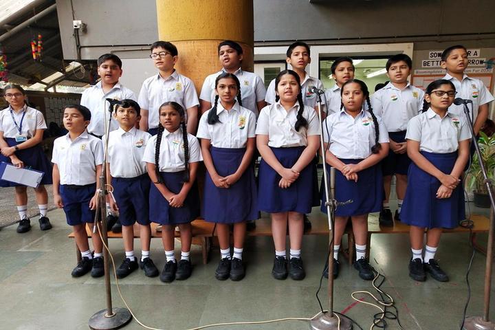 Jasudben M L School-Singing