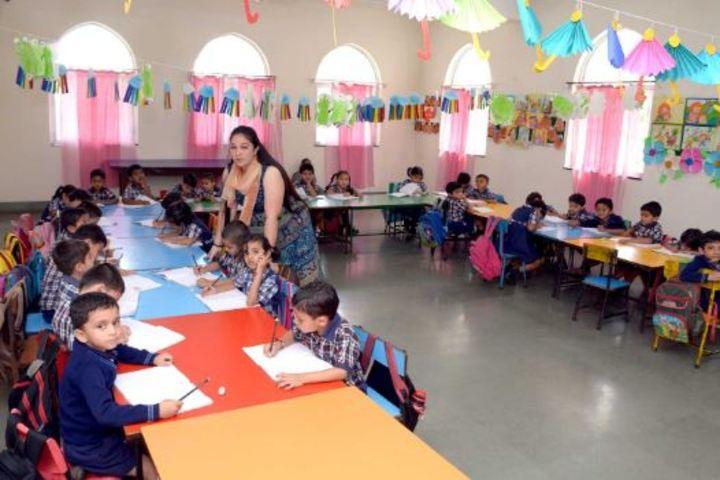 Barnes School and Junior College-Classroom