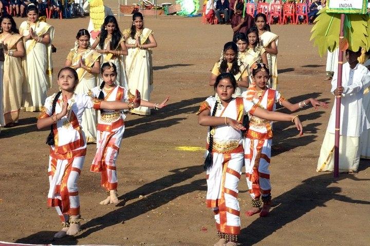 Barnes School and Junior College-Traditional Dance