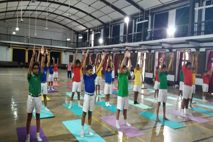 Barnes School and Junior College-Yoga