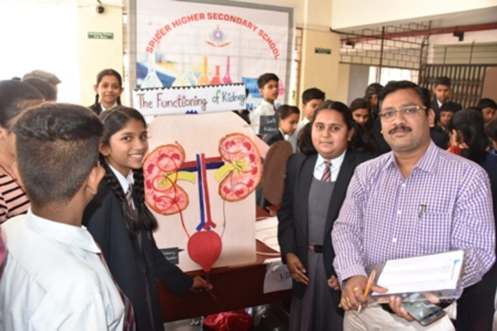 Spicer Higher Secondary School-Science Exhibition