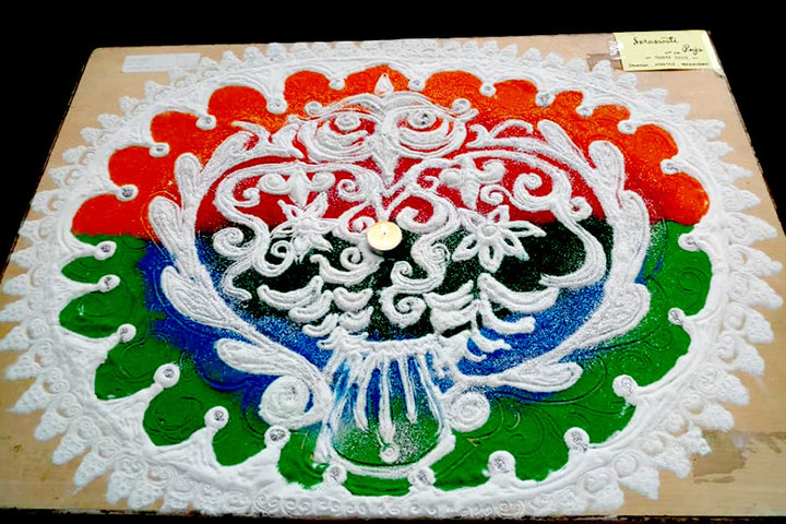 Smt Lilavatibai Podar High School-Rangoli