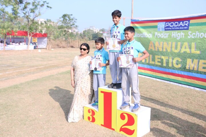 Smt Lilavatibai Podar High School-Sports Winners