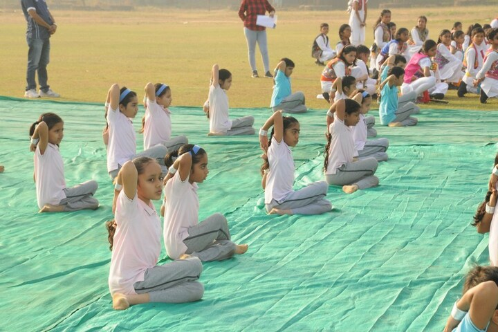 Smt Lilavatibai Podar High School-Yoga