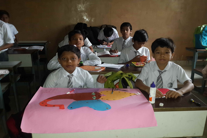 Davara International School-Drawing Art