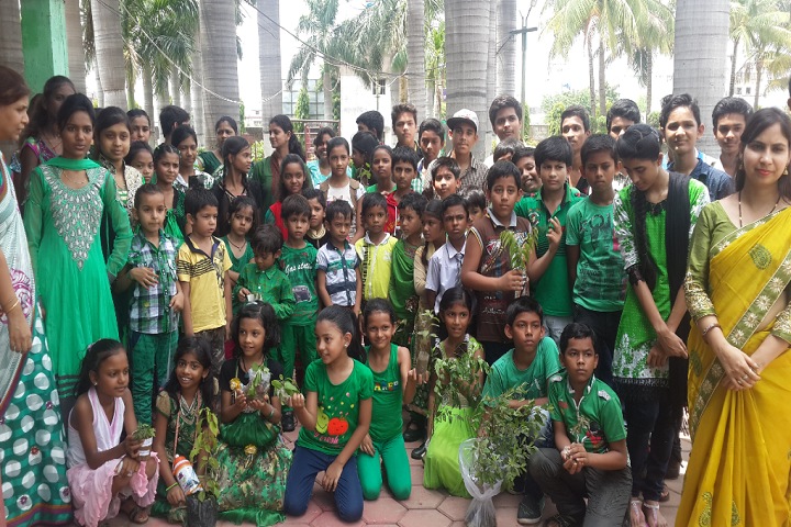 Davara International School-Green Day