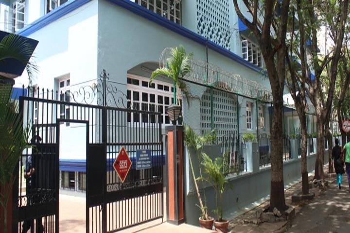 Bombay Scottish School-School Gate