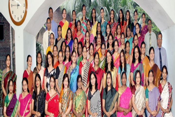 Bombay Scottish School-Staff