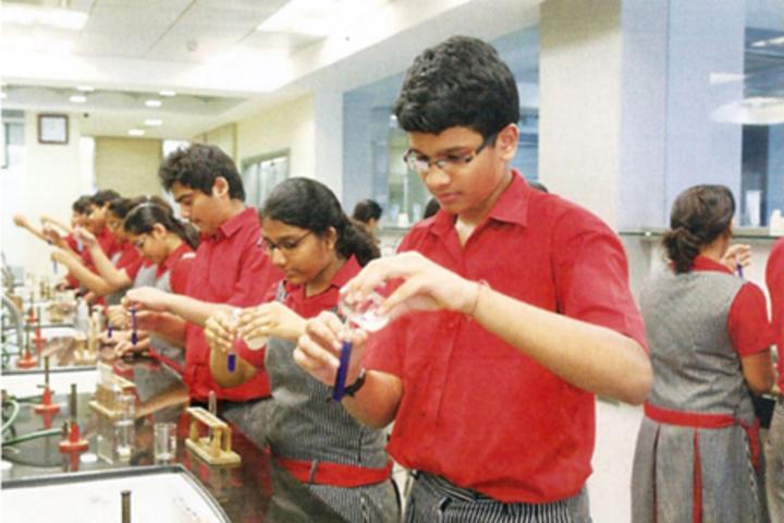 Chatrabhuj Narsee Memorial School-Chemistry Lab