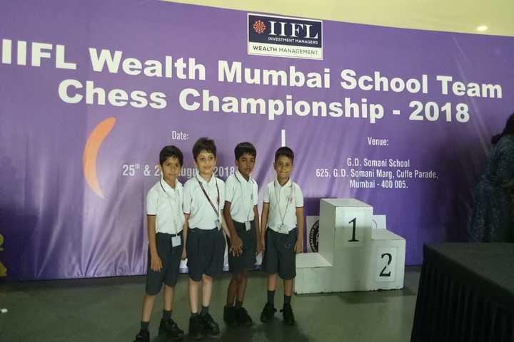 Hiranandani Foundation School-Chess Winners