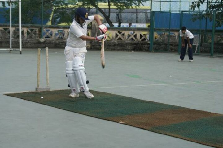 R B K School-Cricket