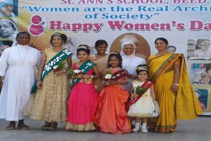 St Anns School-Womens day