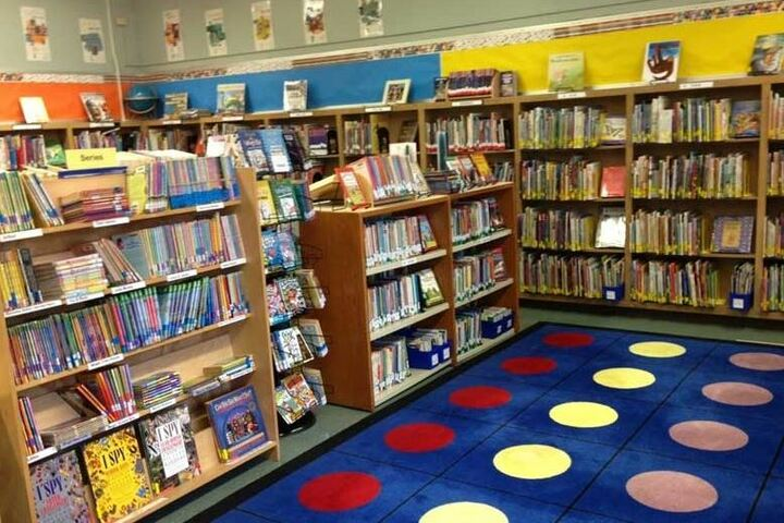 St Anns School-Library