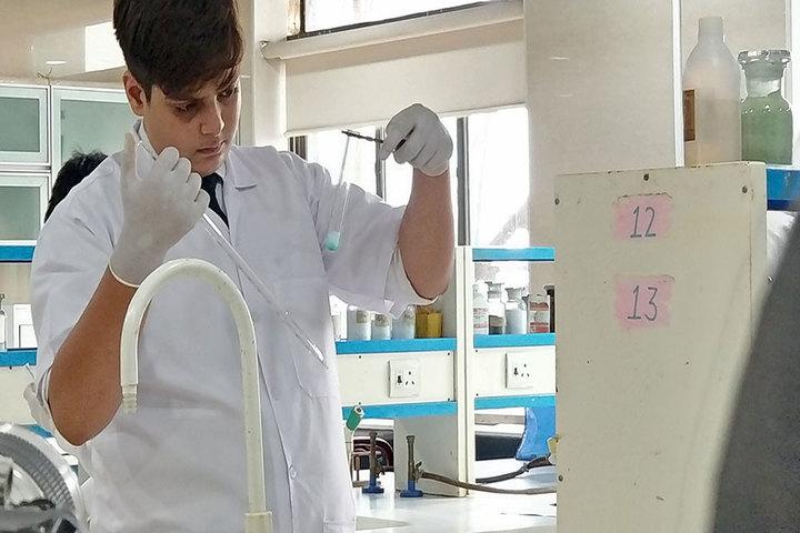 H V B Academy-Chemistry Lab