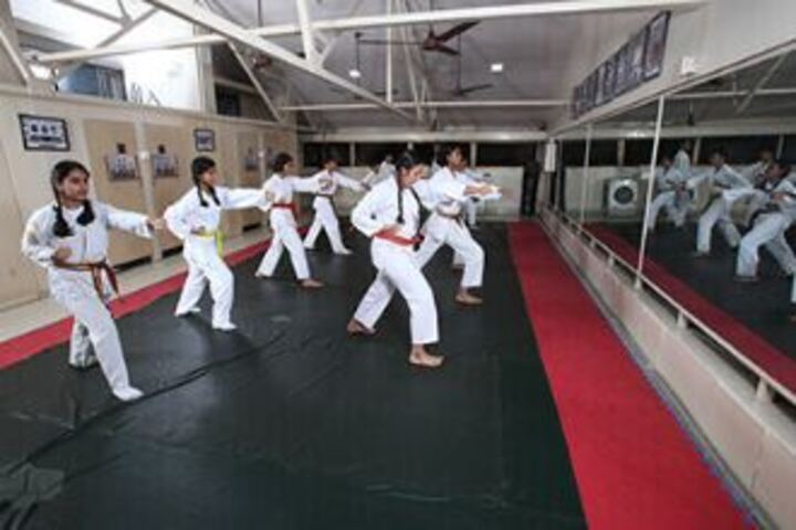 Lady Ratanbai And Sir Mathuradas Vissanji Academy-Karate Activity