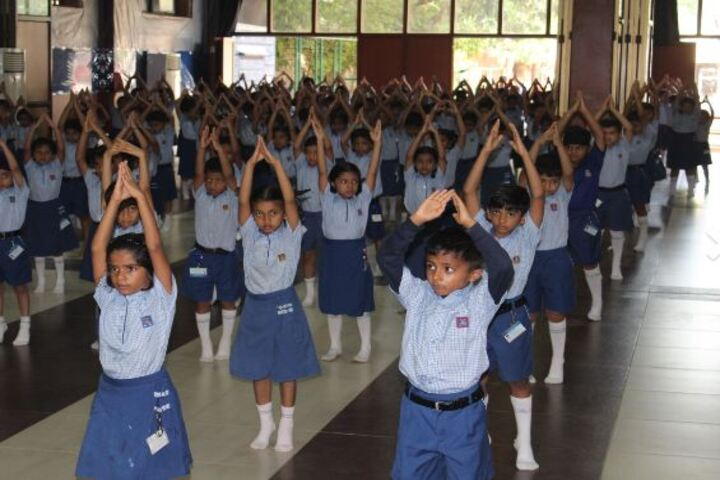 Lady Ratanbai And Sir Mathuradas Vissanji Academy-Yoga Activity