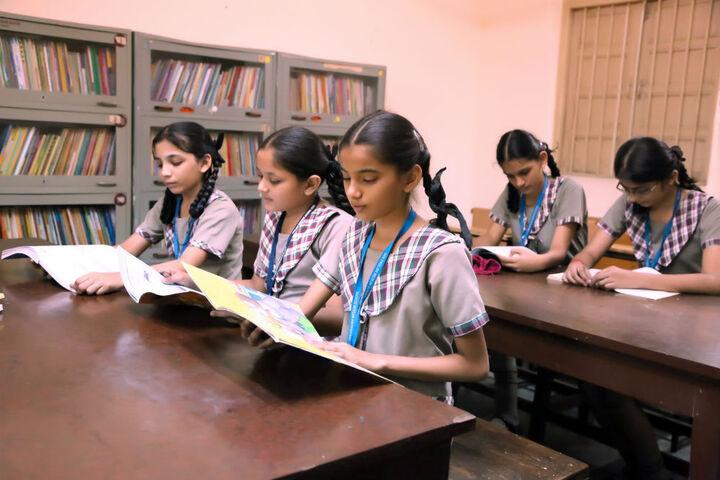 Goregaon Education Societys English Medium School-Library