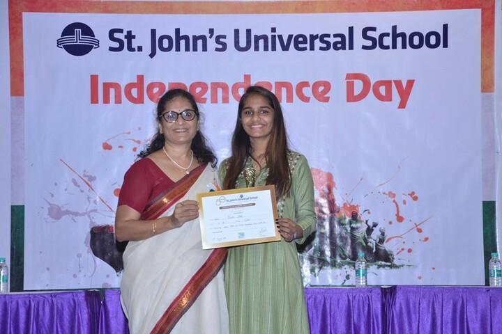 St Johns Universal School-Certificate