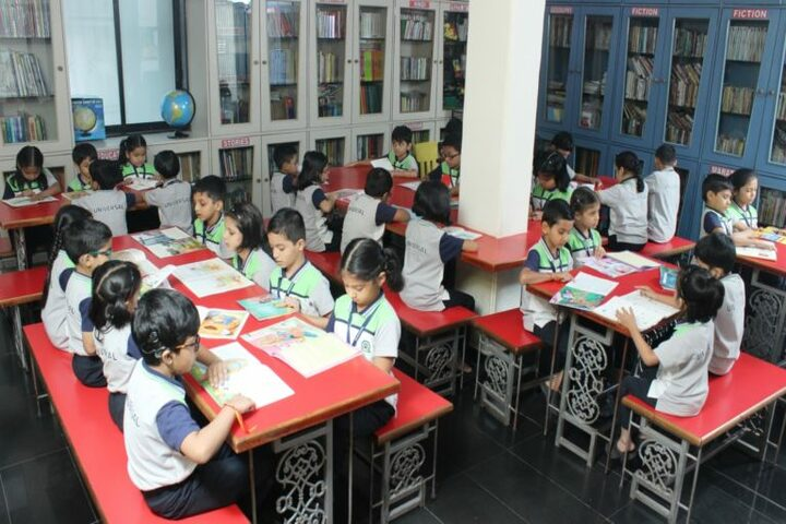 St Johns Universal School-Library