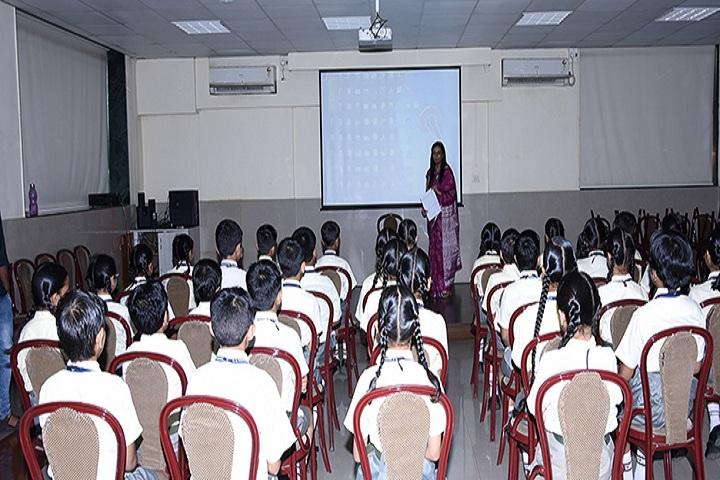 A B V M Agrawal Jatiya Koshs Seth Juggilal Poddar Academy-Smart Class