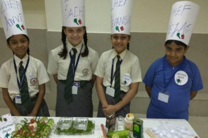 A B V M Agrawal Jatiya Koshs Seth Juggilal Poddar Academy-Food Fest