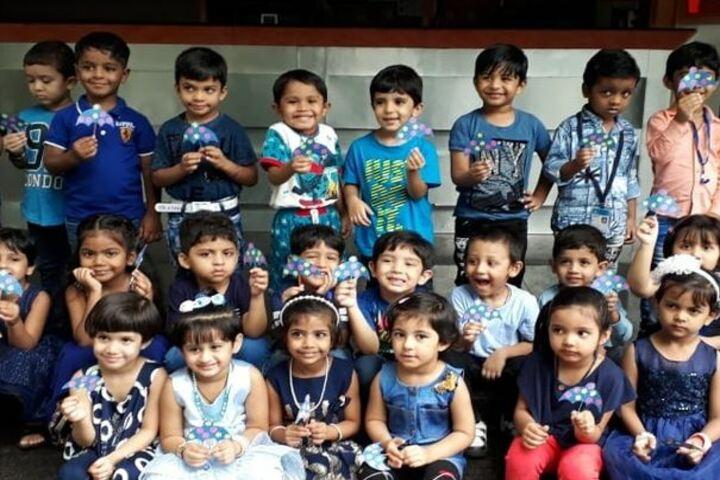 City International School-Blue Day